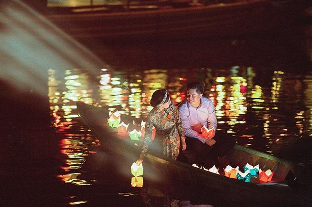 Hội An đẹp nên thơ trong bộ ảnh cưới của Phương Thảo và Duy Khánh