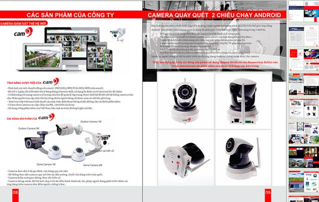 """Minh hoạ sản phẩm """"Giải pháp toàn diện cho camera giám sát"""" được Công ty cổ phần VP9 Việt Nam giới thiệu"""