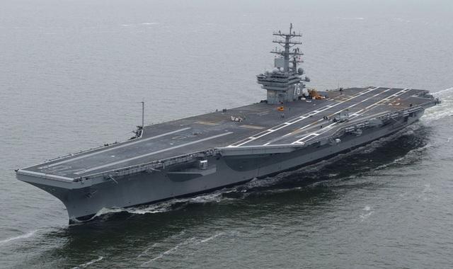 Tàu USS Ronald Reagan. (Ảnh: US Navy)