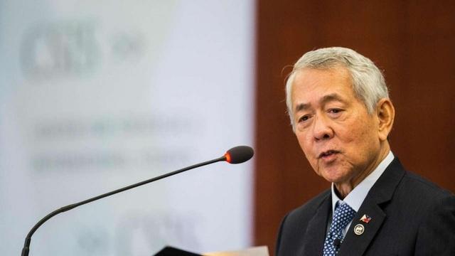 Ngoại trưởng Philippines Perfecto Yasay (Ảnh: AFP)