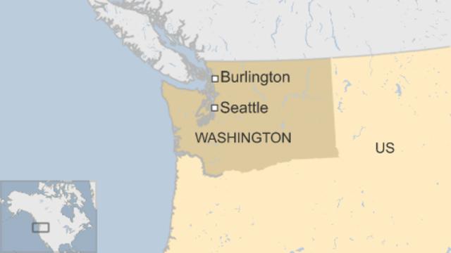Thành phố Burlington thuộc bang Washington của Mỹ (Ảnh: BBC)