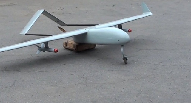Máy bay không người lái Ukraine bị chặn (Ảnh: Sputnik)