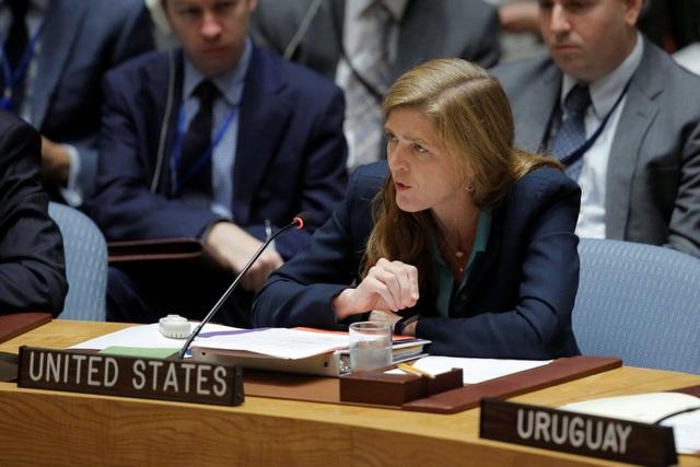 Đại sứ Mỹ tại Liên hợp quốc Samantha Power. (Nguồn: Reuters)