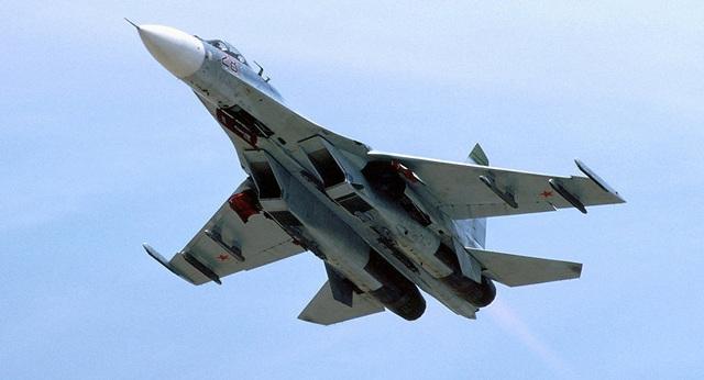 Máy bay chiến đấu Su-27 của Nga (Ảnh: Sputnik)