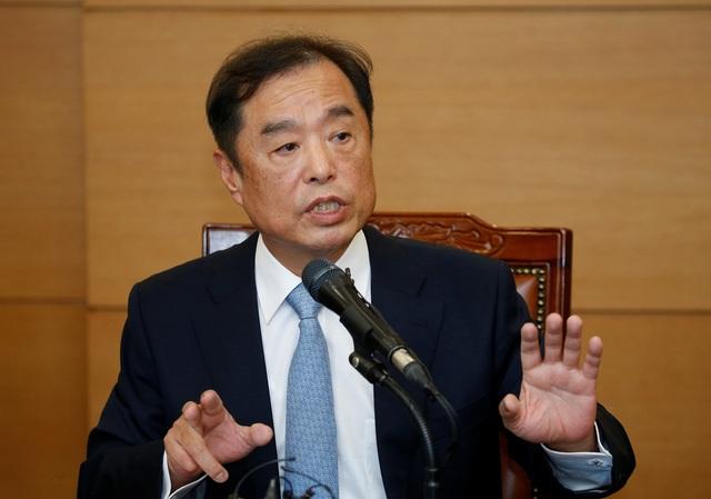 Thủ tướng mới được bổ nhiệm của Hàn Quốc Kim Byong-joon (Ảnh: Reuters)