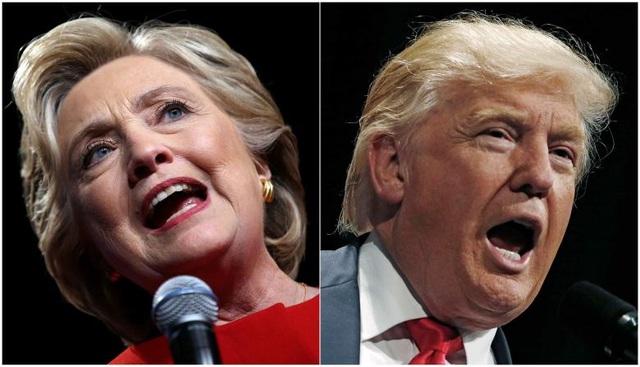 Bà Hillary Clinton và ông Donald Trump (Ảnh: Reuters)