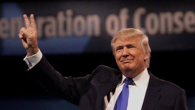 Ông Donald Trump đã giành chiến thắng trước bà Hillary Clinton trong cuộc bỏ phiếu ngày 8/11 và trở thành tân tổng thống Mỹ (Ảnh: RT)