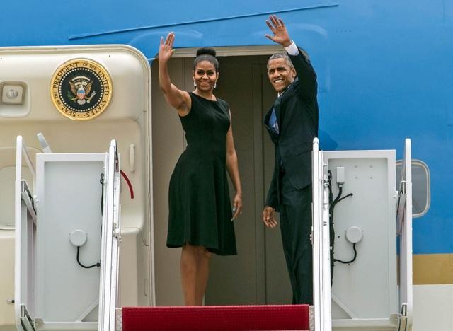 Tổng thống Barack Obama và phu nhân Michelle Obama (Ảnh: Share America)