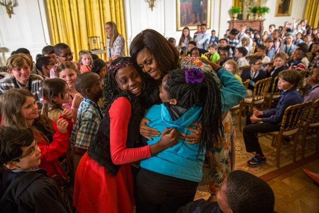 Đệ nhất phu nhân Michelle Obama muốn mang lại nhiều cơ hội học tập cho các bé gái trên toàn thế giới (Ảnh: WH)