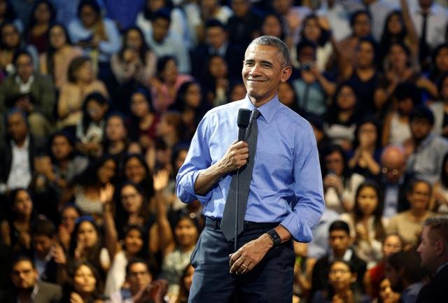Tổng thống Barack Obama phát biểu trước các nhà lãnh đạo trẻ ở Peru hôm 19/11 (Ảnh: Reuters)