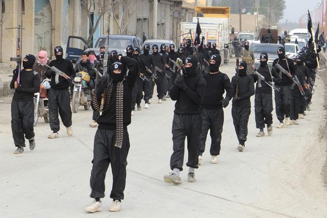 Các tay súng Hồi giáo cực đoan ở Syria (Ảnh: Veteranstoday)