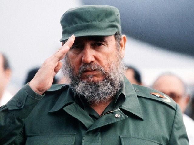 Lãnh tụ Cuba Fidel Castro (Ảnh: Getty)