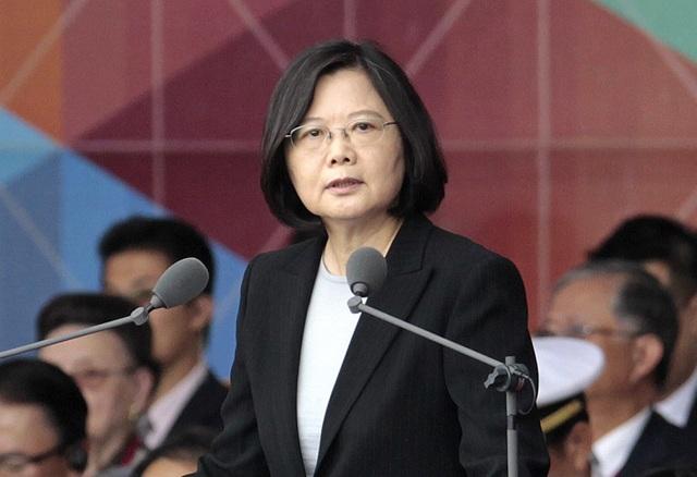 Lãnh đạo Đài Loan Thái Anh Văn (Ảnh: WSJ)