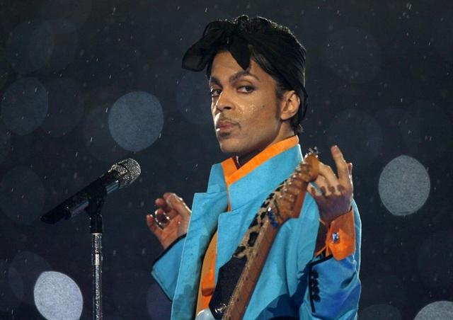 Ngôi sao ca nhạc, huyền thoại nhạc pop Prince qua đời ở tuổi 57.