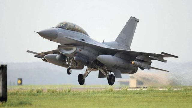 Mẫu máy bay KF-16 của Không quân Hàn Quốc. (Ảnh: PA)