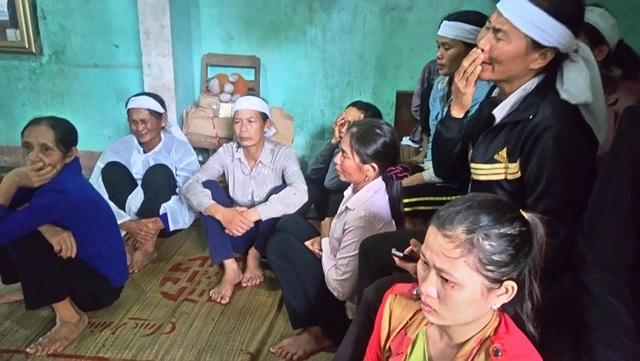 Người thân rất đau đớn trước cái chết csản phụ Phạm Thị Hiếu