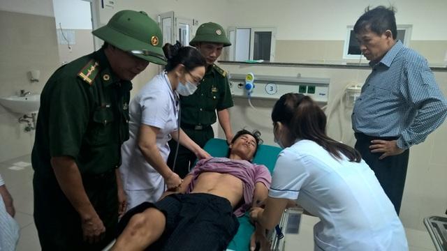Thuyền viên Nguyễn Ngọc Thành đang được chăm sóc và điều trị tại Bệnh viện Việt Nam Cu Ba - Đồng Hới