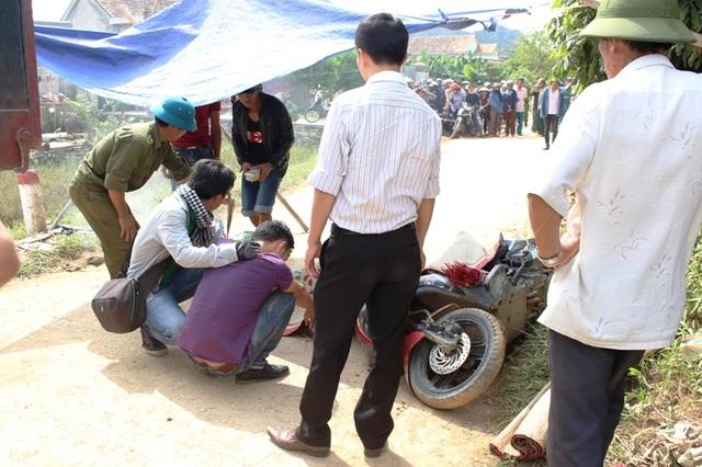 Hiện trường vụ tai nạn thương tâm