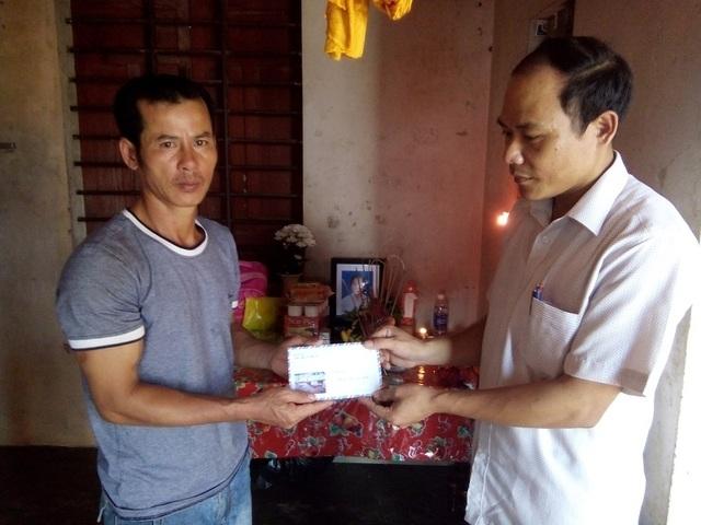 Chia sẻ mất mát với gia đình anh Phạm Văn Thường có con là Phạm Thị Khánh Ngọc không may gặp nạn
