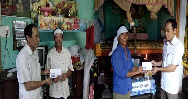 Chia sẻ cùng hai gia đình nạn nhân Nguyễn Thị Tứ và Nguyễn Thị Dương