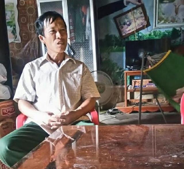 Ông Lê Văn Luận, Phó thôn kiêm Bí thư chi bộ đội 3, thôn Trung Thôn lý giải làm việc này là vì dân