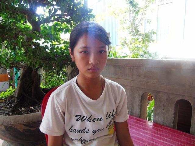 Em Nguyễn Thị Thanh Trúc vẫn chưa hết bàng hoàng sau những gì đã xảy ra với mình