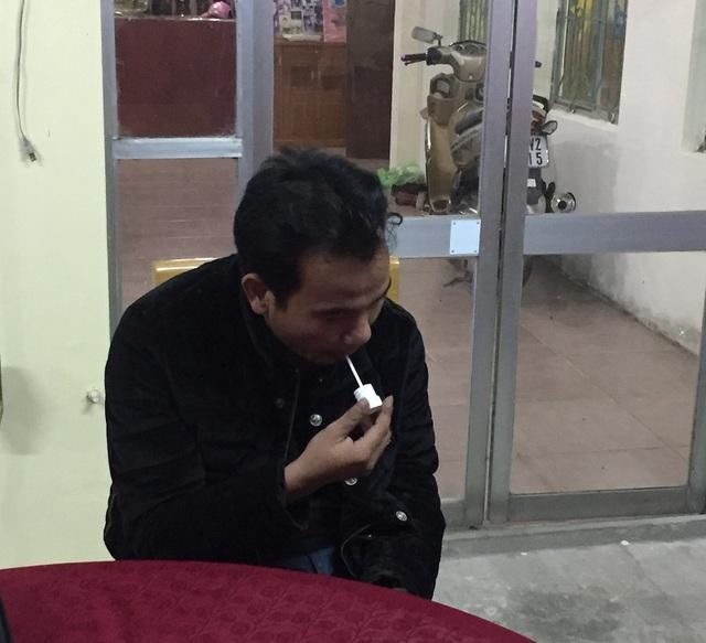 Lái xe Thái Văn Đồng bị bắt giữ sau khi gây tai nạn rồi bỏ trốn. (Ảnh T.T)