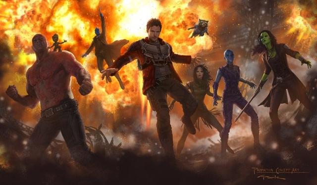 """""""Guardians of the Galaxy"""" (Vệ binh dải ngân hà) sẽ trở lại vào mùa xuân tới, tất cả dàn diễn viên chính cũng sẽ trở lại trong phần phim này."""