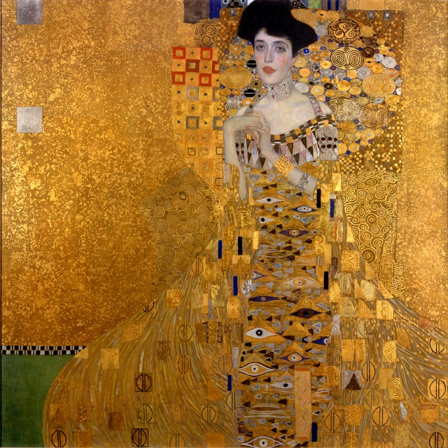 """Bức chân dung """"Adele Bloch Bauer I"""" từng lập kỷ lục về giá khi được đem bán hồi năm 2006, đạt mức 135 triệu đô."""