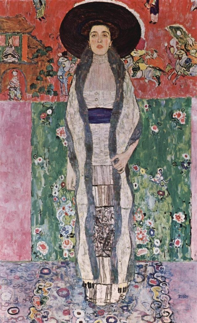 """Bức chân dung """"Adele Bloch Bauer II"""" ít được biết tới hơn, nhưng thực tế không hề kém hơn về mức độ tài hoa và cảm xúc của người họa sĩ."""
