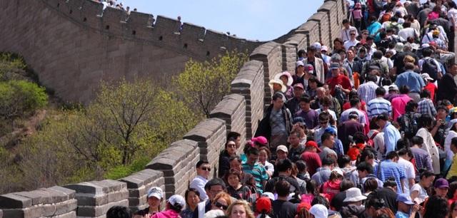 Khi chúng ta hình dung về Vạn Lý Trường Thành của Trung Quốc, hẳn hiếm người có thể nghĩ ra cảnh tượng này.