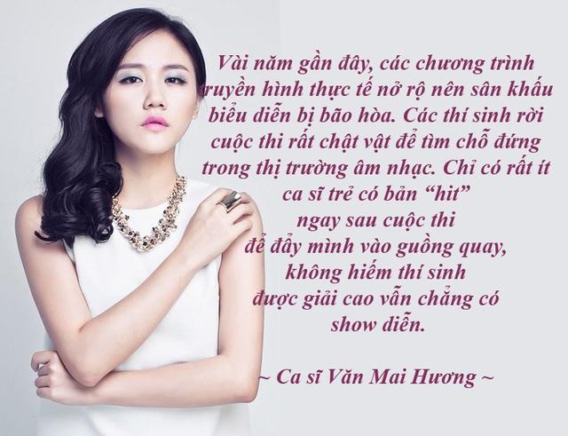 Có nên dừng chương trình Vietnam Idol sau 10 mùa phát sóng? - với phần chia sẻ thẳng thắn của ca sĩ Văn Mai Hương