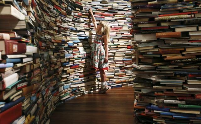 Kỳ lạ những người mua sách về chỉ để… ngắm - 1