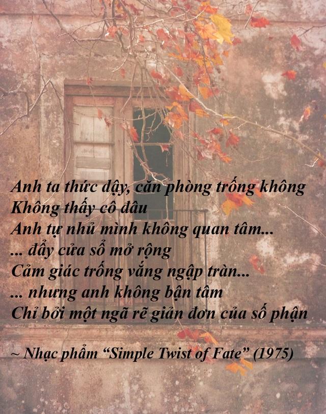 """Đi tìm ý thơ trong lời nhạc của """"nhạc sĩ đoạt Nobel Văn học"""" - 26"""