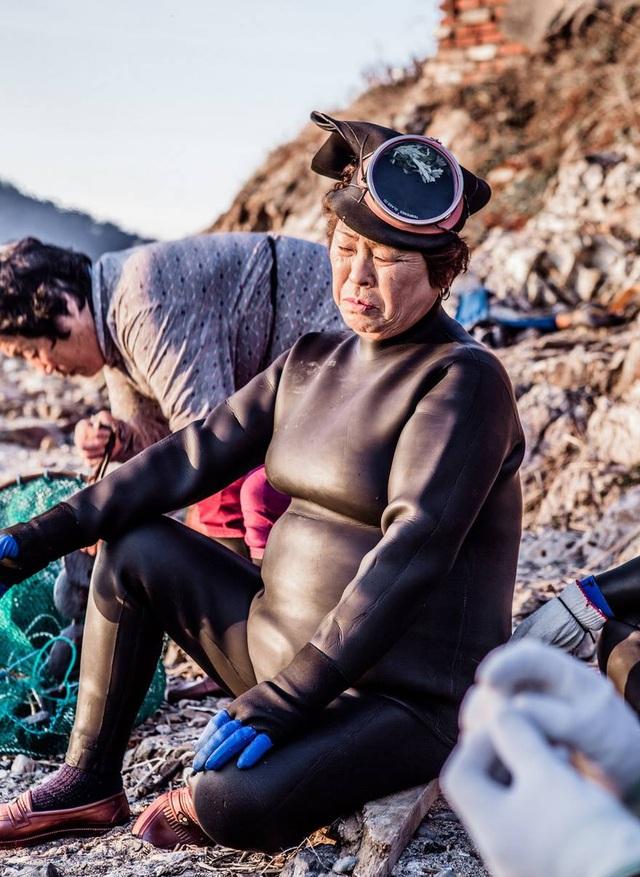 """Gặp gỡ thế hệ """"người cá"""" cuối cùng ở Hàn Quốc - 8"""