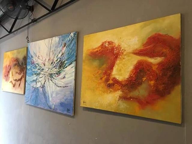 Những gam màu hy vọng của họa sĩ tật nguyền Lê Minh Châu - 5