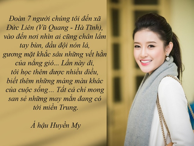 """Những tấm lòng thầm lặng của nghệ sĩ Việt trong """"rốn lũ"""" - Trong những ngày miền Trung chìm trong mưa lũ, nhiều nghệ sĩ đã trích tiền cá nhân ủng hộ, đứng ra kêu gọi mọi người quyên góp, tổ chức các đêm nhạc gây quỹ và đi vào tận """"rốn lũ"""" để trao quà cho hàng nghìn hộ dân. Tấm lòng nhân ái của các nghệ sĩ đã vẽ nên những màu sắc đầy xúc cảm cho cuộc đời…"""