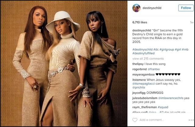 Phát sốt vì khả năng Destiny's Child sắp tái hợp - 4
