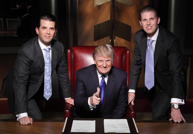 """Chương trình truyền hình thực tế """"The Apprentice"""" (Người học việc, lên sóng từ 2004-nay)"""