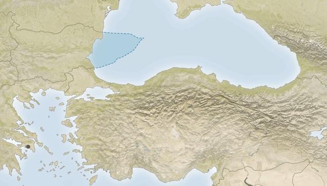 Vị trí của Biển Đen.