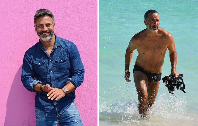 Người mẫu Tây Ban Nha Guillermo Zapata (U50+) hiện đang sinh sống và làm việc tại Los Angeles, Mỹ. Ông đã từng được báo chí Mỹ biết đến với diện mạo được so sánh như nam tài tử George Clooney.