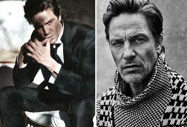 Người mẫu Anh Andre Van Noord (51 tuổi)