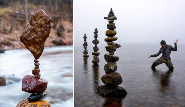 """Người nghệ sĩ kỳ diệu khiến những hòn đá cũng biết… """"thiền"""" - 6"""
