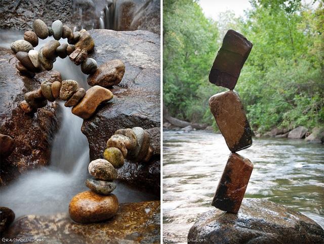 """Người nghệ sĩ kỳ diệu khiến những hòn đá cũng biết… """"thiền"""" - 13"""