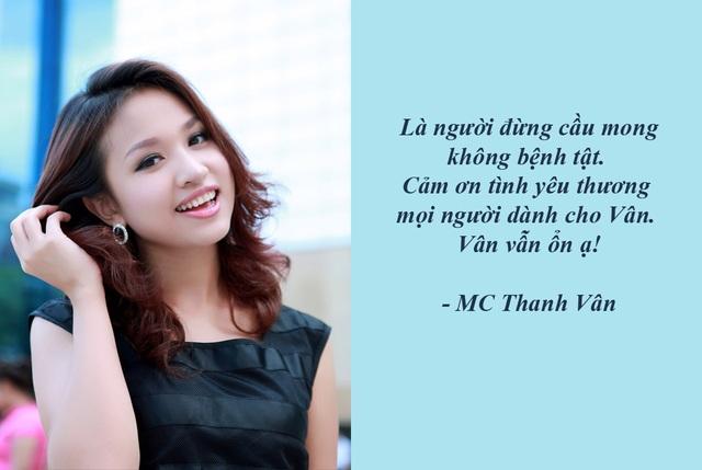 """MC Thanh Vân: """"Làm người, đừng cầu mong không bệnh tật"""" - Vân Hugo dù đang có chuyến công tác ở Trung Quốc nhưng vẫn gửi lời trấn an người hâm mộ."""