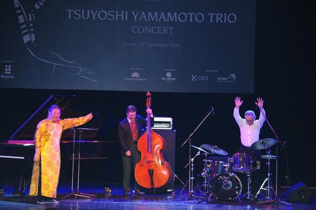 Huyền thoại nhạc Jazz Nhật Bản thăng hoa trên sân khấu Hà Nội - 15