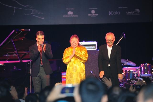 Huyền thoại nhạc Jazz Nhật Bản thăng hoa trên sân khấu Hà Nội - 2