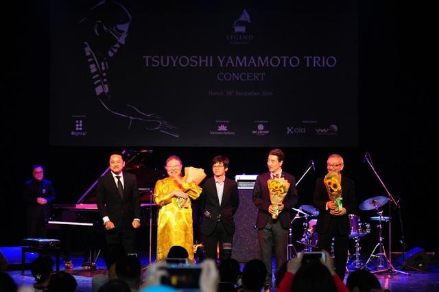 Huyền thoại nhạc Jazz Nhật Bản thăng hoa trên sân khấu Hà Nội - 16
