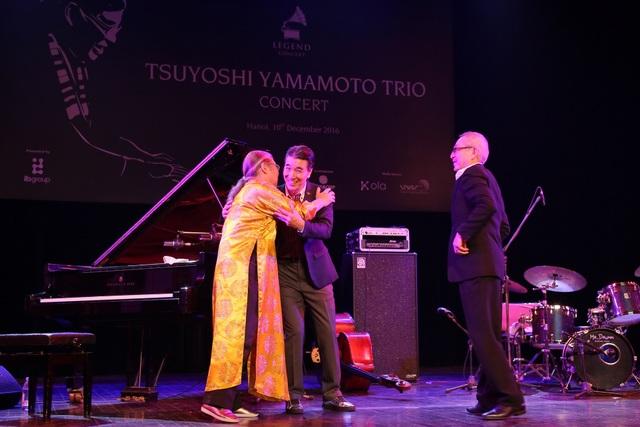 Huyền thoại nhạc Jazz Nhật Bản thăng hoa trên sân khấu Hà Nội - 9