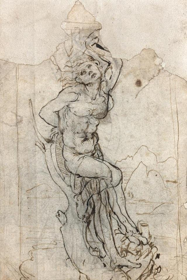 Bức vẽ được thực hiện vào khoảng năm 1482 bởi danh họa Leonardo da Vinci. Bức vẽ được xác định có giá vào khoảng 15 triệu euro.